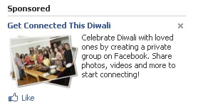 This Diwali get connected says FB...